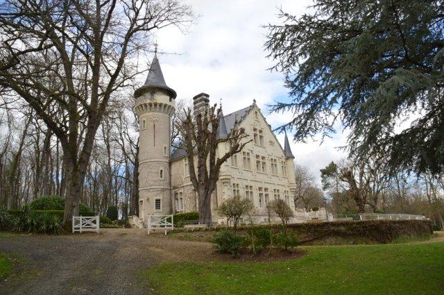 54481c911a CASTLE FOR SALE POITIERS- sale castle in between Tours and Poitiers near  Loudun in the Vienne